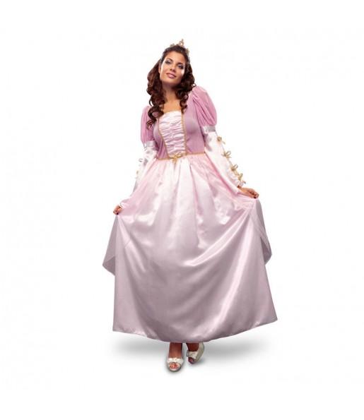 disfraz de princesa rosa mujer