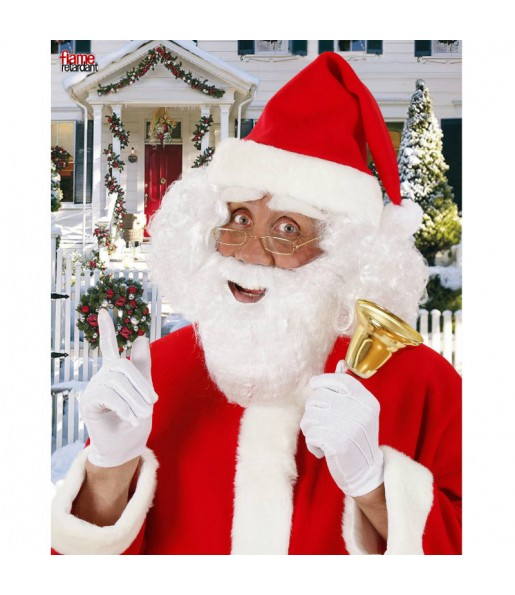 Barba blanca papa Noel