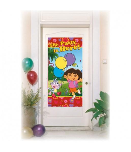 Cartel puerta Dora