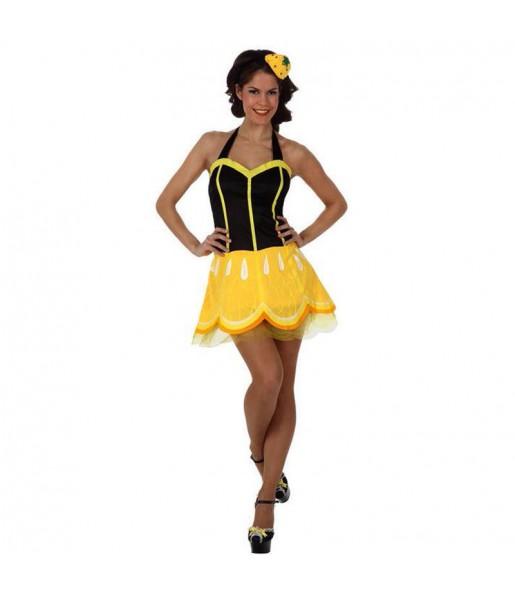 Disfraz de Limón Mujer