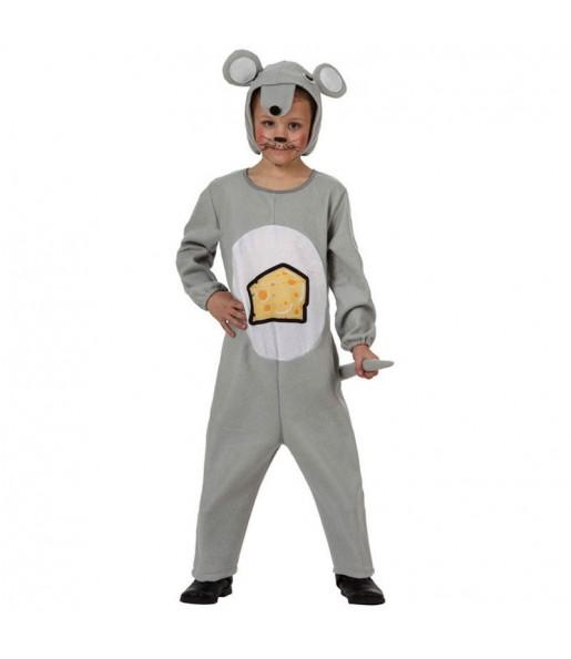 Disfraz de Ratón Gris infantil