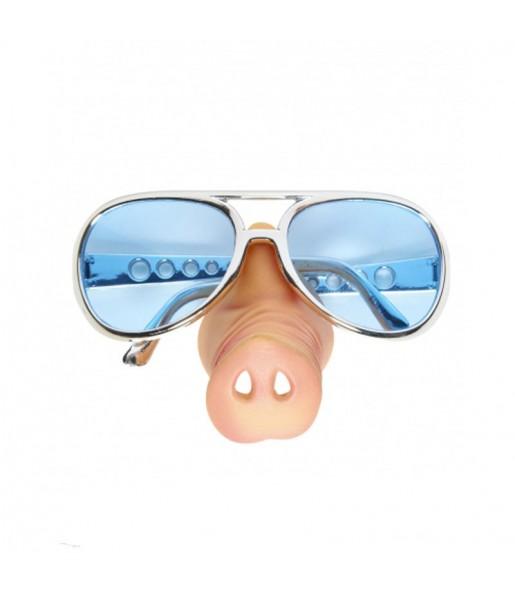 gafas con nariz de cerdo