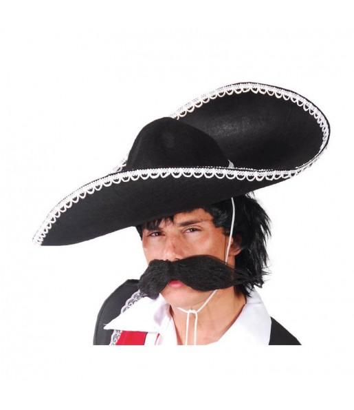 Sombrero Mexicano Mariachi Negro