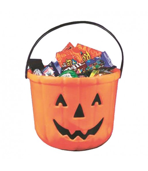 Cubo Calabaza para Halloween
