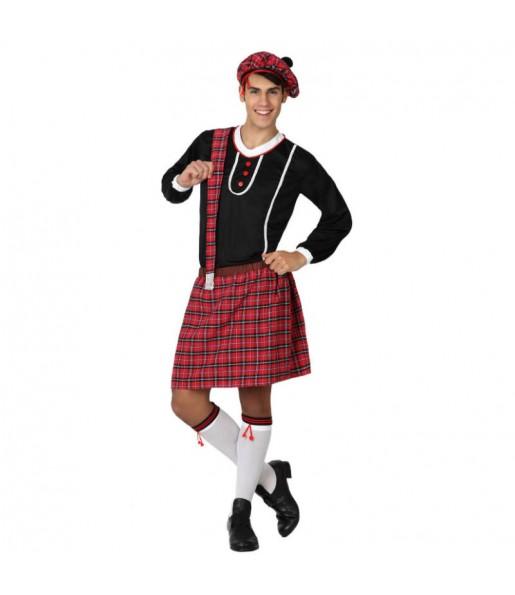 Disfraz de Escoces falda