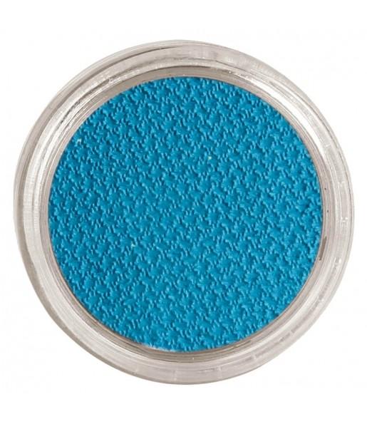 Maquillaje al Agua Azul Claro