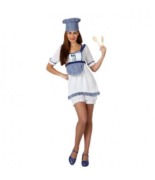 Disfraz Cocinera mujer