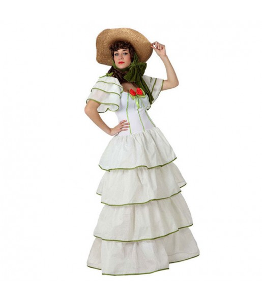 disfraz dama sureña adulto