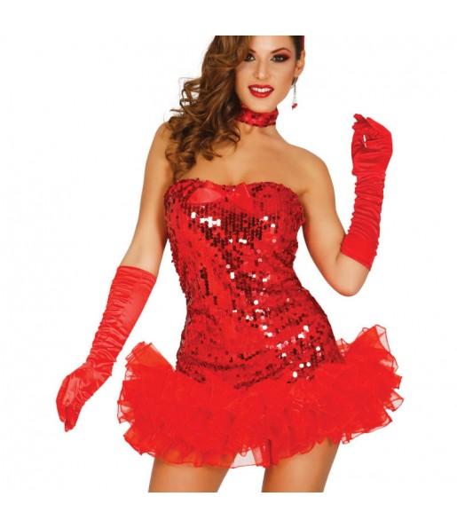 Guantes Princesa color Rojos