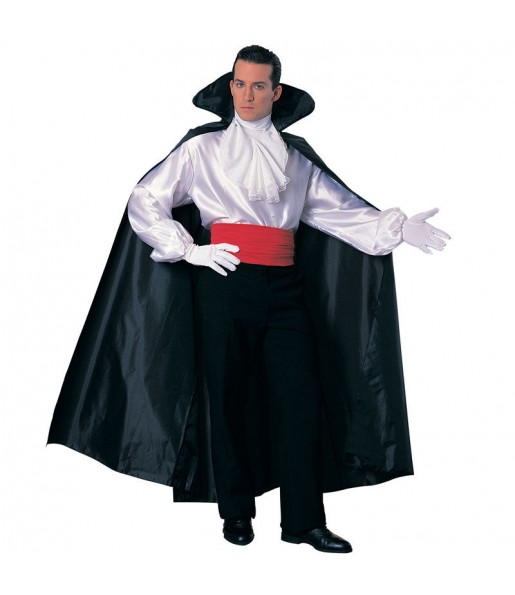 Disfraz de Capa Larga Negra