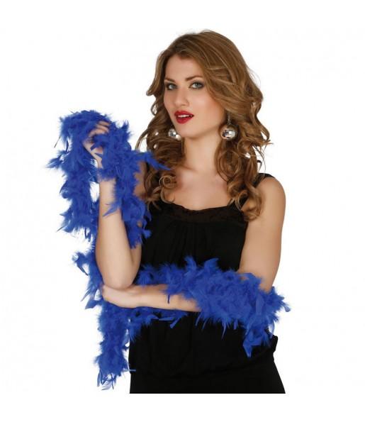 boa color azul