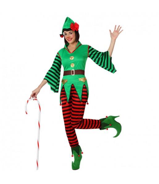 Disfraz de Elfo Mujer