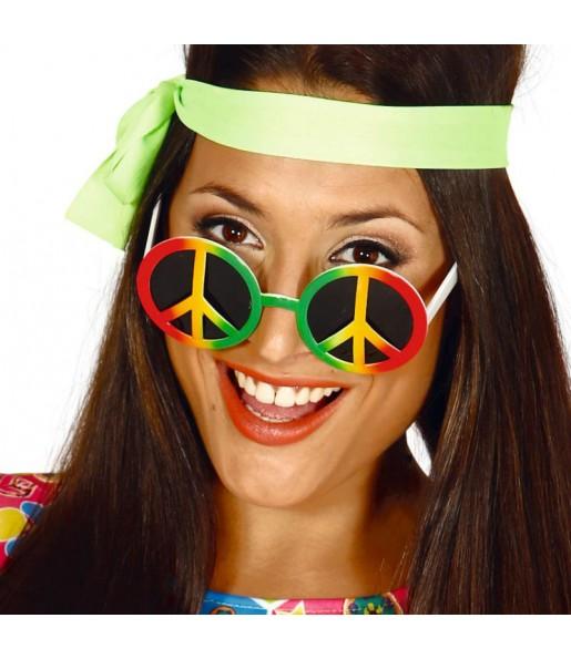 Gafas Hippie peace