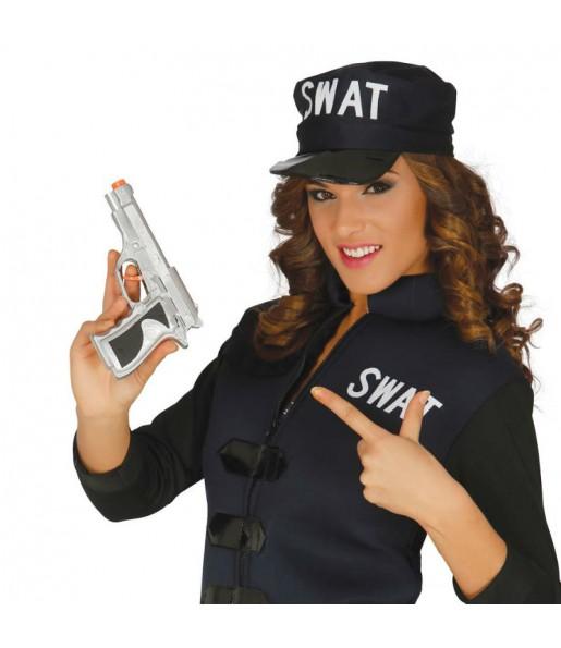 Pistola Detective Plata