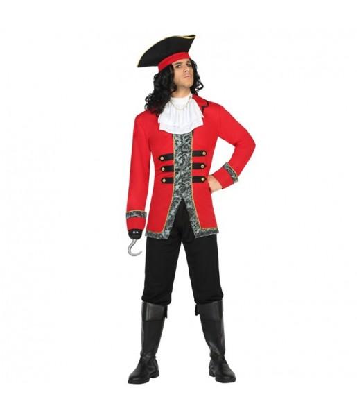 disfraz capitán pirata garfio adulto