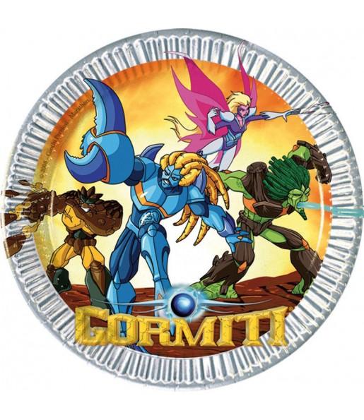 Platos de Gormiti de 23 cm