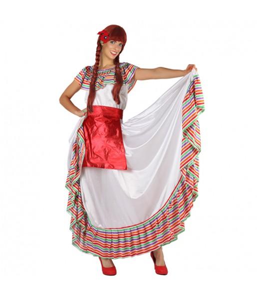 Disfraz de Mejicana con Delantal