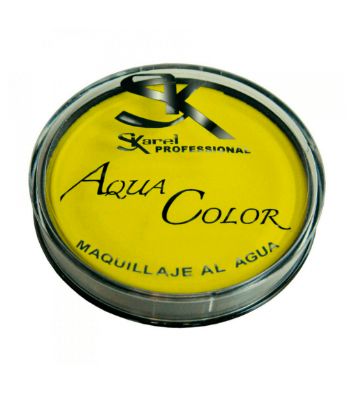 Maquillaje Aquacolor Amarillo