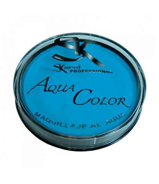 Maquillaje Aquacolor Azul Claro