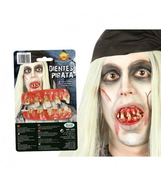 Dentadura Pirata zombie