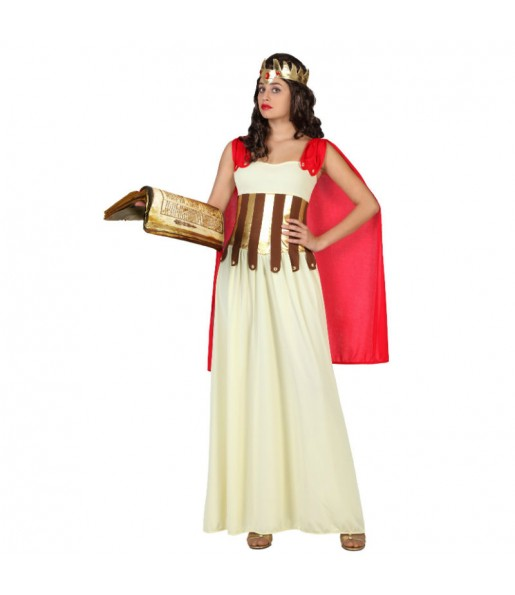 Disfraz de Diosa Griega Capa Roja
