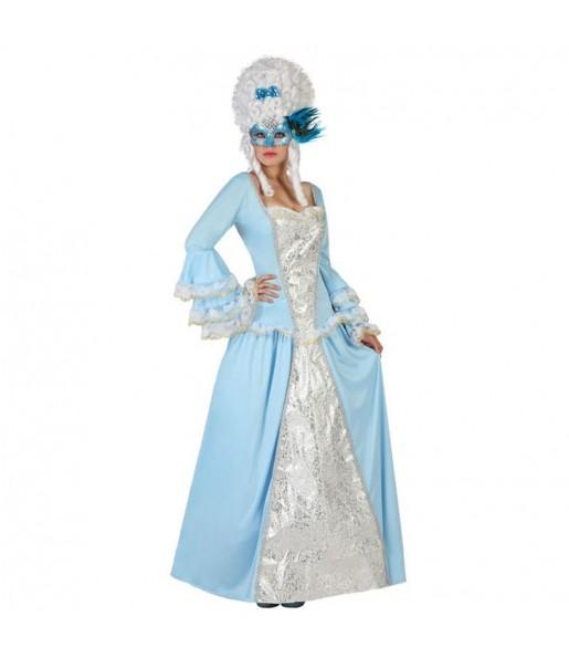 Disfraz de Veneciana Época Azul