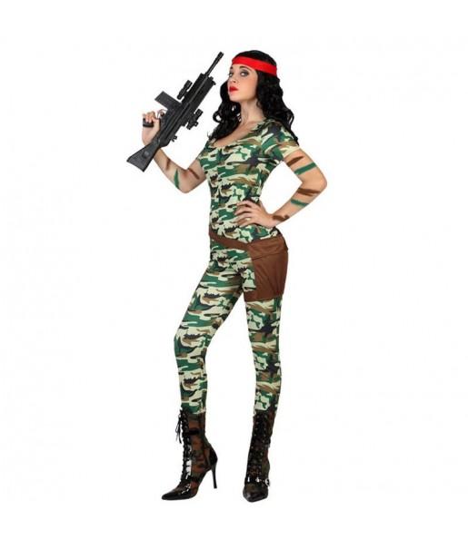 Disfraz de Militar Sexy mujer