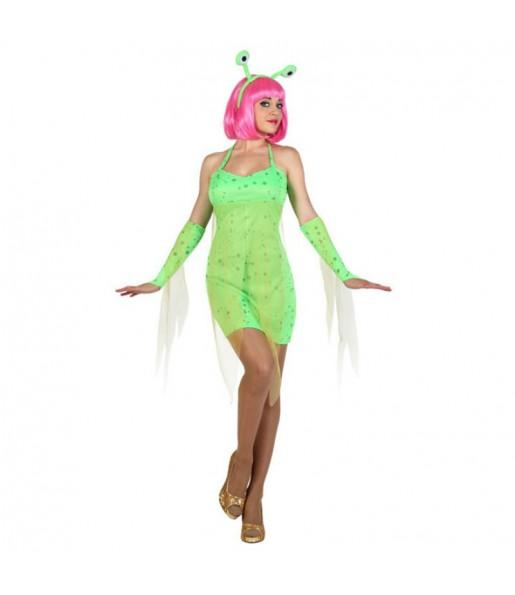 Disfraz Alien Extraterrestre mujer