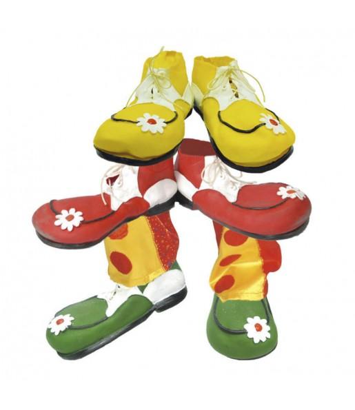 Zapatos Payaso Látex
