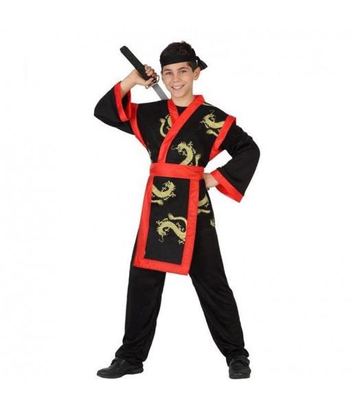 Disfraz de Guerrero Samurái para niño
