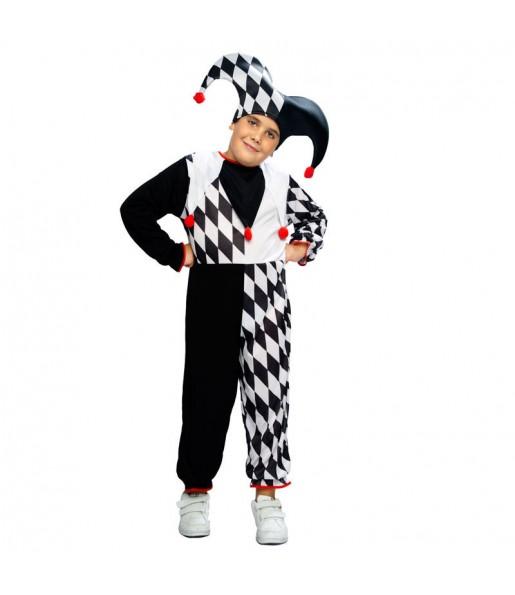 Disfraz de Bufón Rombos niño