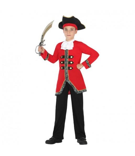 Disfraz de Capitán Garfio Infantil