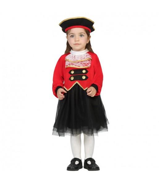 Disfraz de Capitana Garfio Bebé