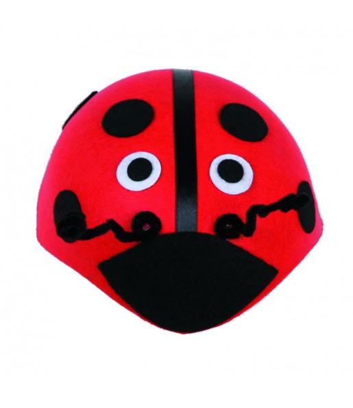 Casquete de Mariquita roja