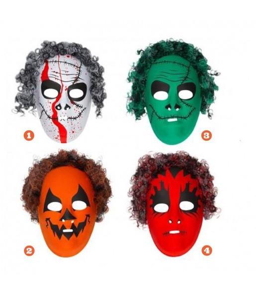 Careta de Halloween colores