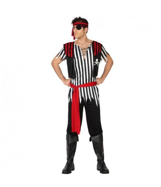 Disfraz de Pirata Parcheado