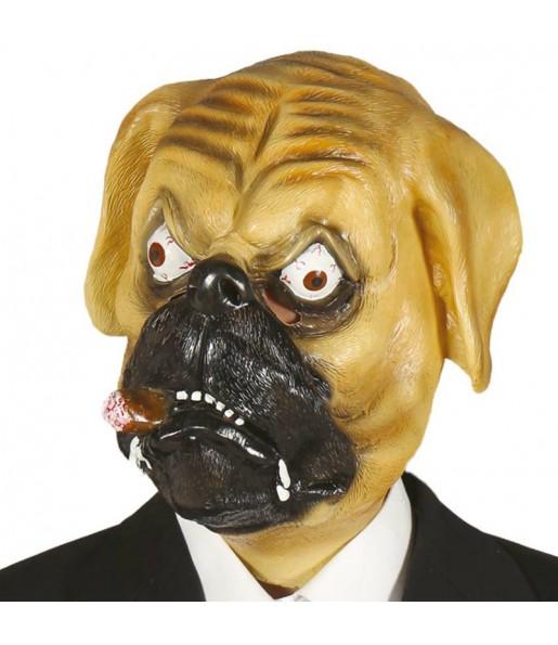 Mascara de Perro Bulldog