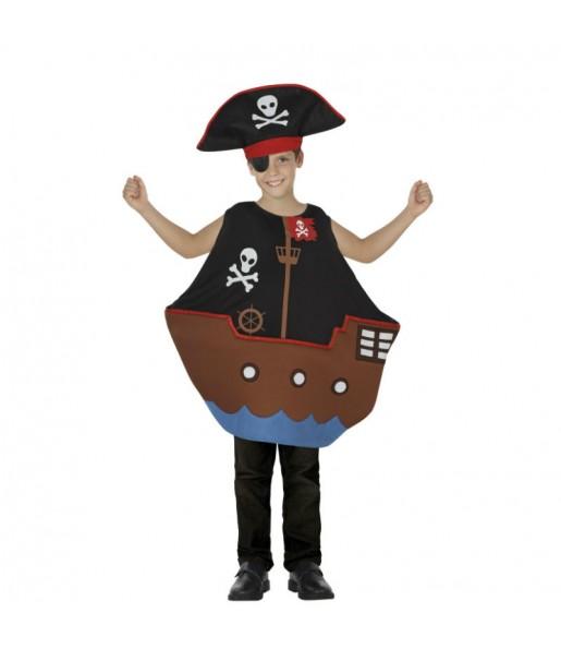 Disfraz de Barco Pirata