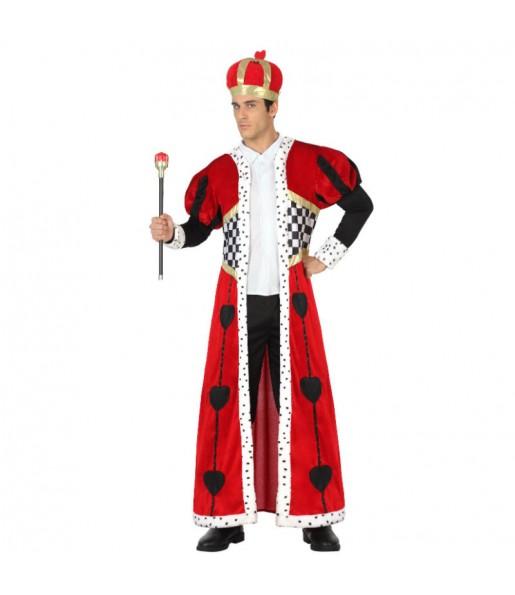 Disfraz de Rey de Corazones