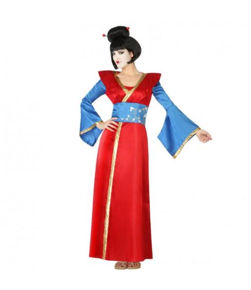 Disfraz de Geisha Roja