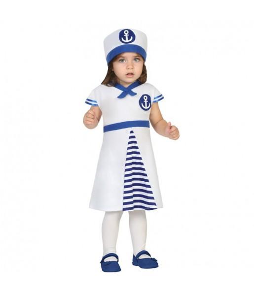 Disfraz Marinera Blanca Bebé
