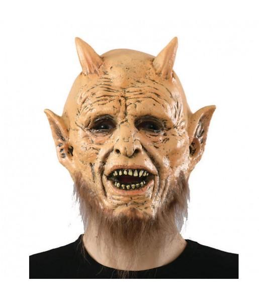 Careta de Demonio con barba