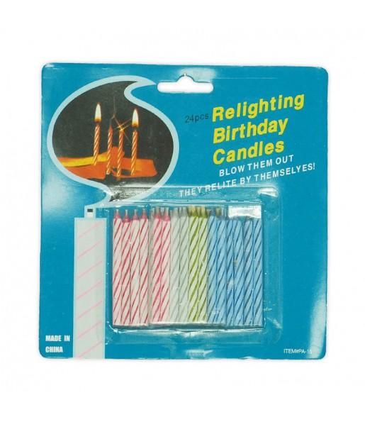 blíster velas mágicas