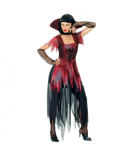Disfraz de Vampiresa Gótica dark