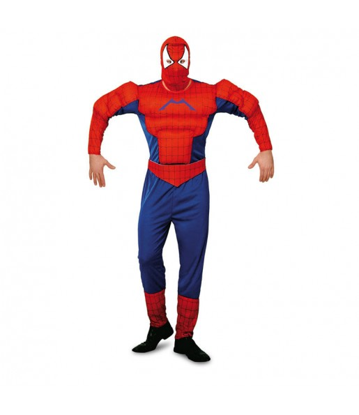 Disfraz de Spiderman Musculoso adulto