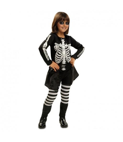 Disfraz de Niña Esqueleto