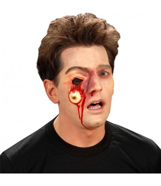 Efecto de ojo caído