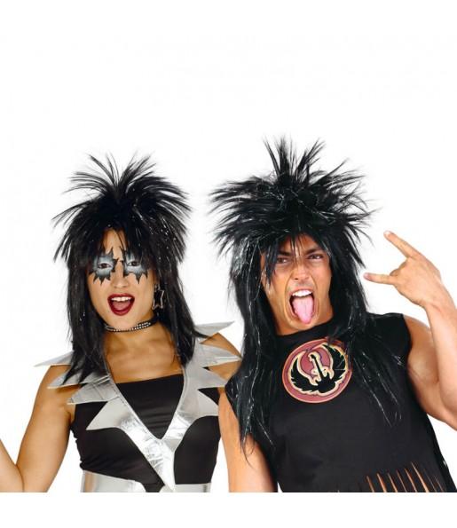 Peluca Punk Negra