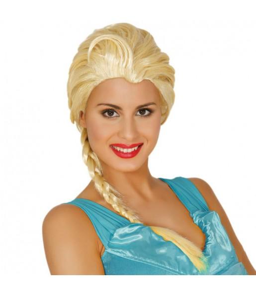 Peluca Princesa Frozen