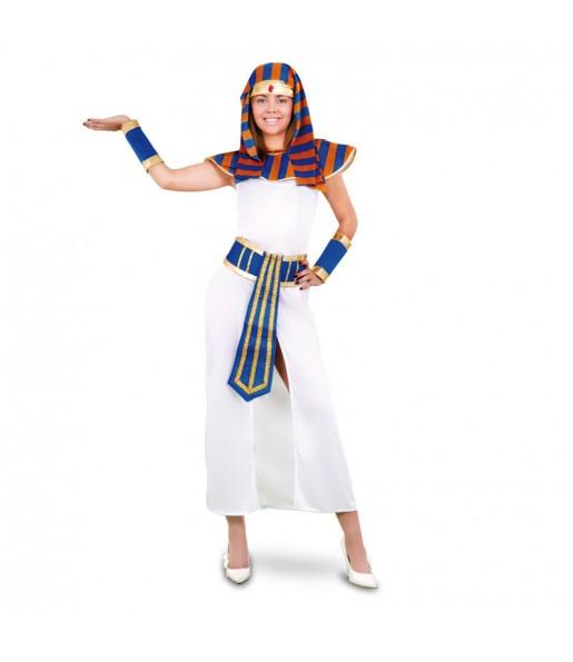 Disfraz de Faraona Azul